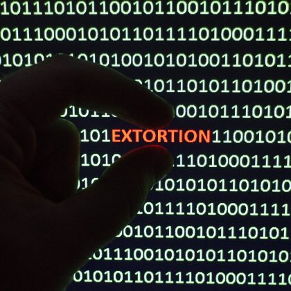 online extortion ones and zeros