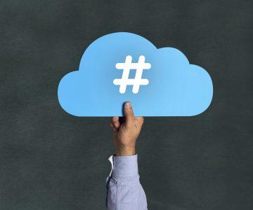 hashtag cloud