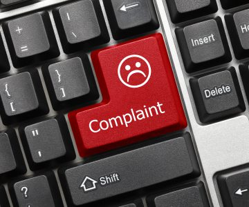 complaint keyboard