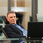 relaxing executive