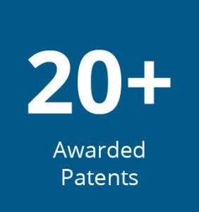 20+ patents