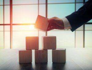 executive stacking blocks