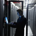 computer engineer in data center