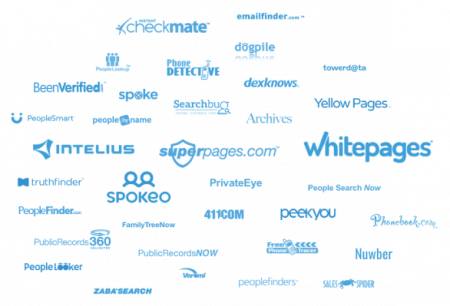 cloud of people search logos