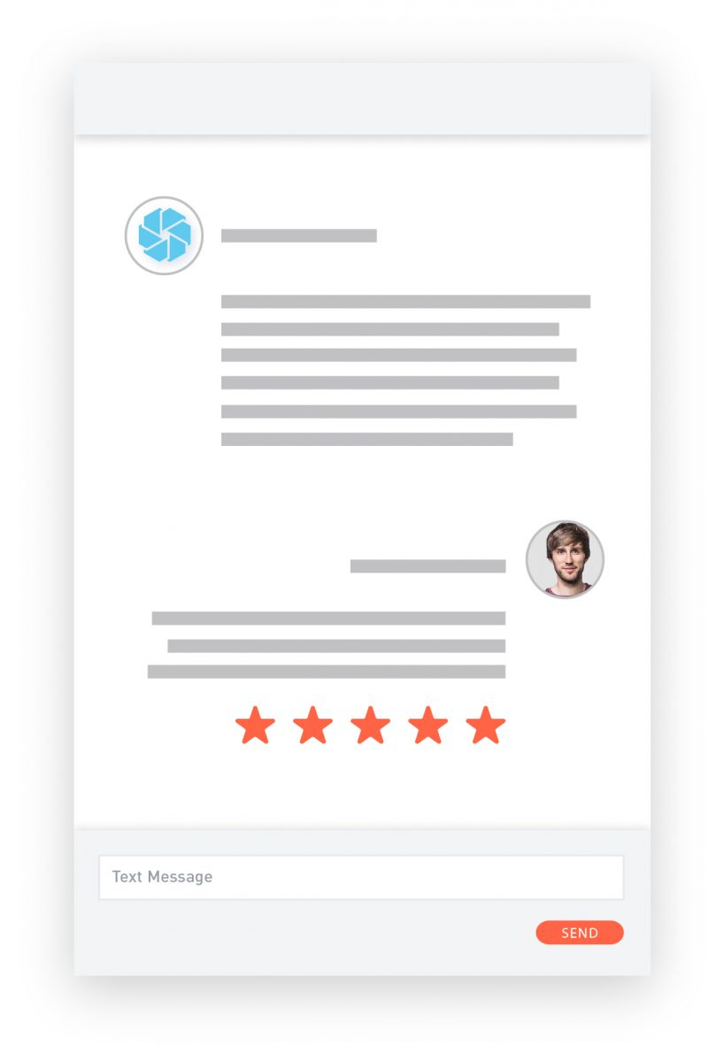 request reviews screen